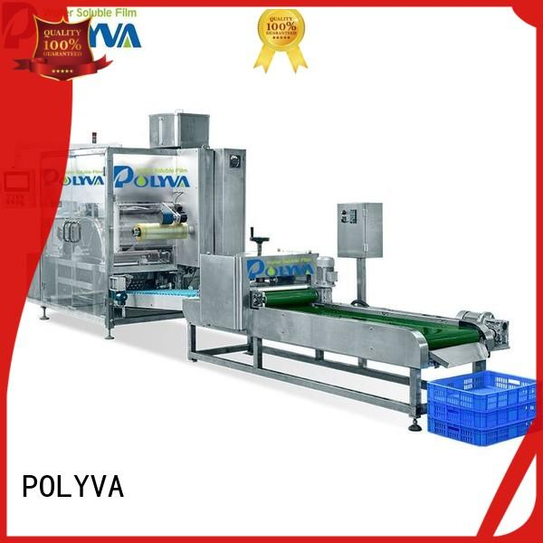 high quality water soluble film making machine supplier for oil chemicals agent