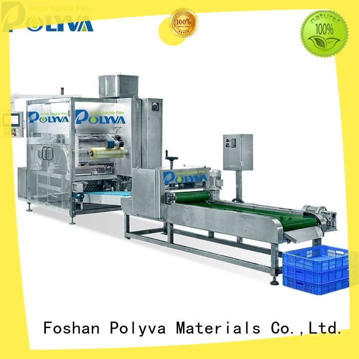 POLYVA high quality pva film machine personalized for oil chemicals agent