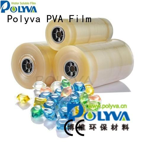 POLYVA Brand cold laundry custom water soluble film suppliers