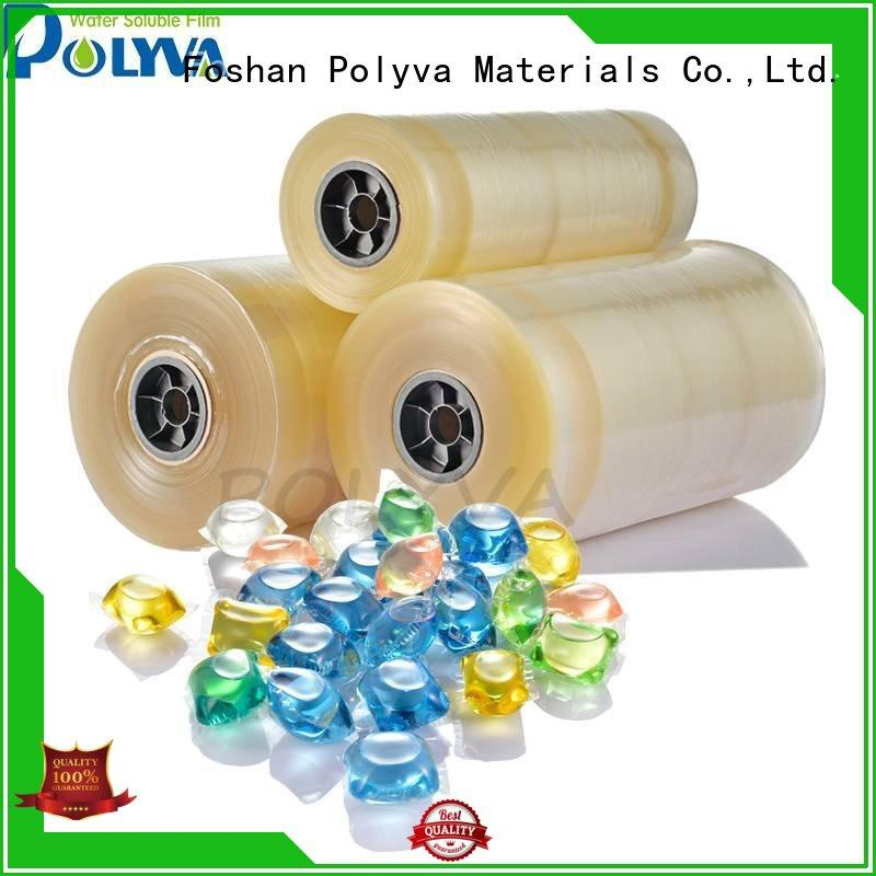 POLYVA Vinyl water soluble bags factory direct supply for makeup