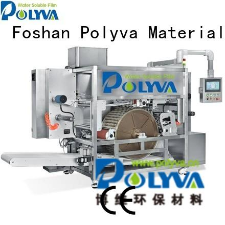 machine pods nzc water soluble film packaging POLYVA Brand