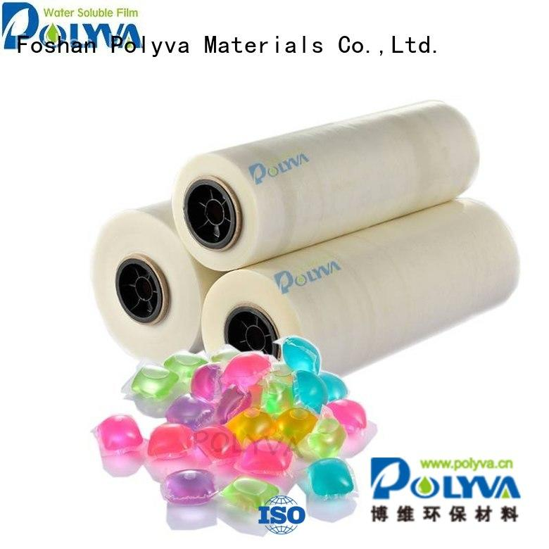 water soluble film suppliers film cold water soluble film pods POLYVA Brand
