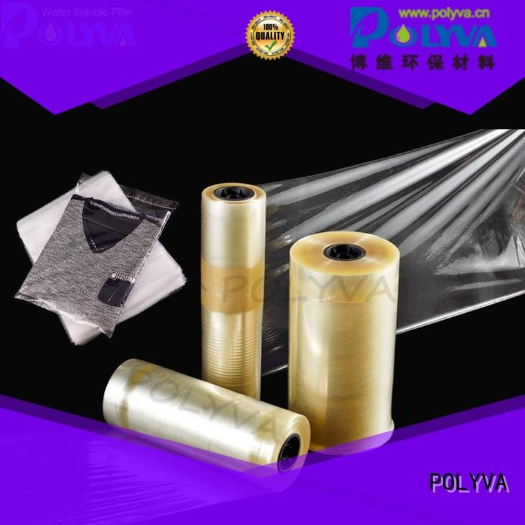 POLYVA soft polyvinyl alcohol bags wholesale for water transfer printing