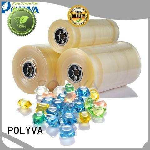 POLYVA dissolvable plastic bags directly sale for makeup