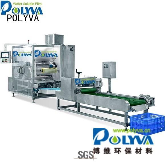 powder speed POLYVA Brand laundry pod machine