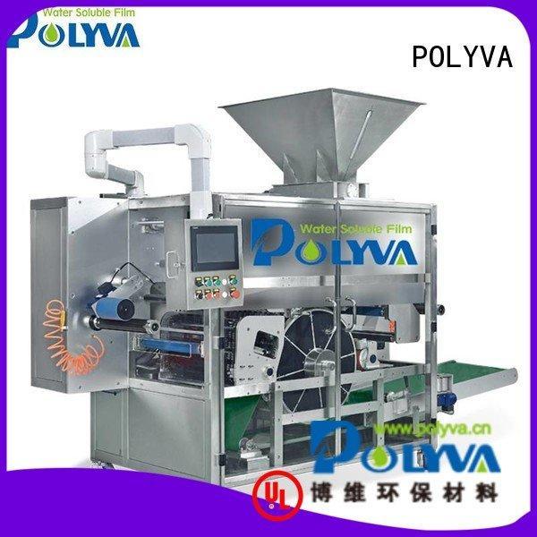 Hot laundry pod machine machine speed automatic POLYVA Brand