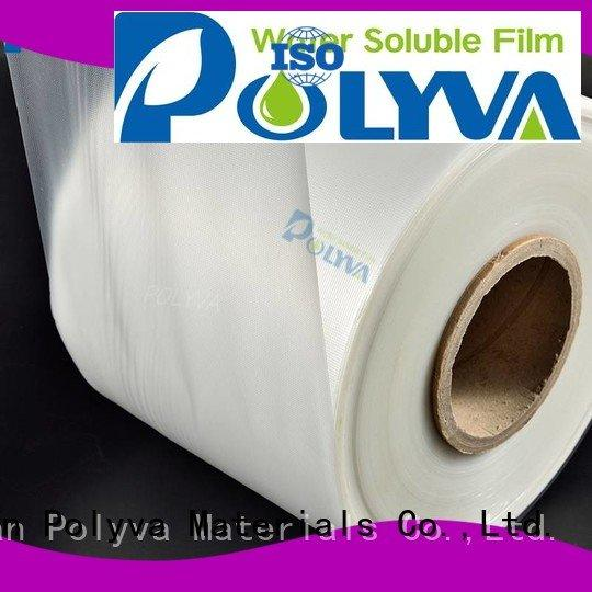 POLYVA water soluble film manufacturers water laundry cleaner transfer