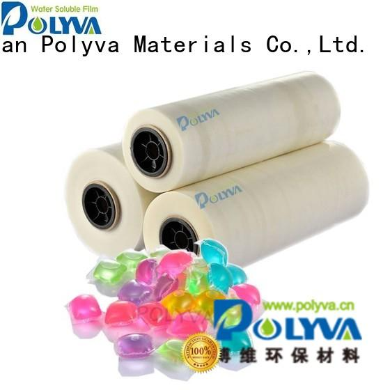 Wholesale detergent water soluble film suppliers POLYVA Brand
