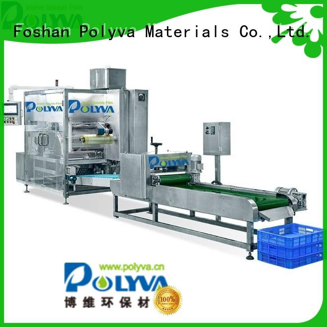 high quality water soluble packaging factory for liquid pods