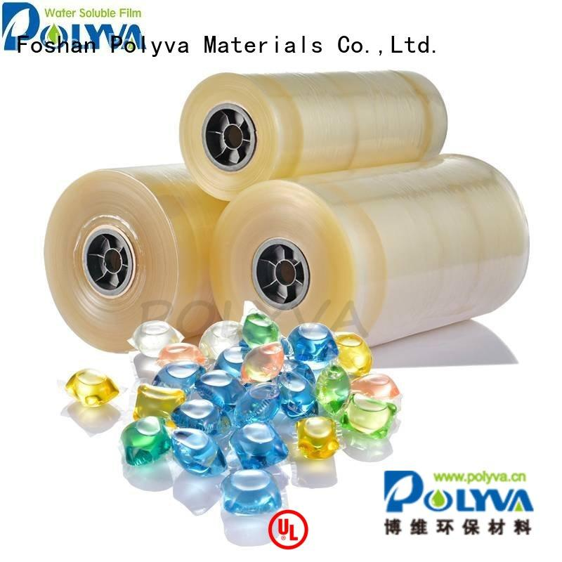 oem pva POLYVA Brand water soluble film suppliers factory