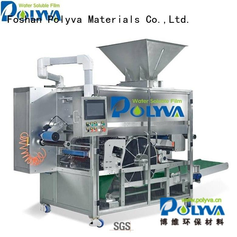 Quality POLYVA Brand nzd pods water soluble film packaging