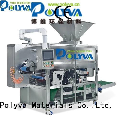nzd pda pods POLYVA Brand laundry pod machine factory