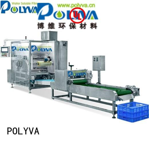 automatic machine pods water soluble film packaging pda POLYVA Brand