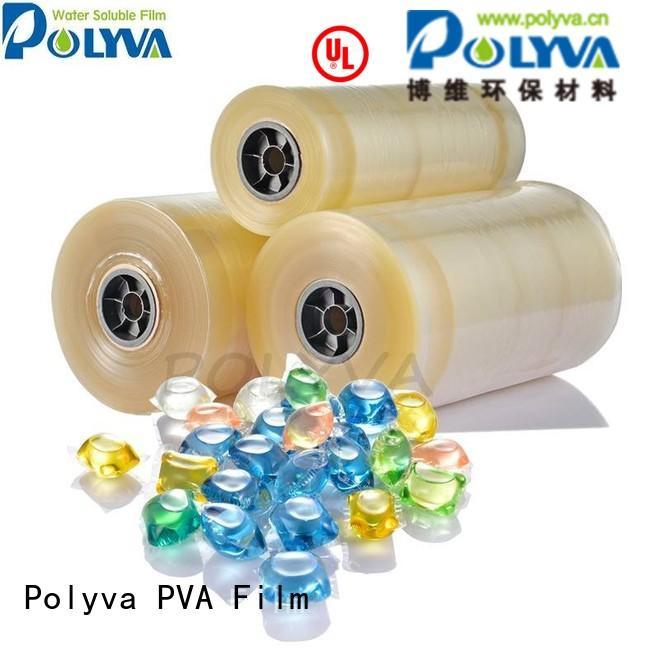 Hot water soluble film liquidpowder POLYVA Brand