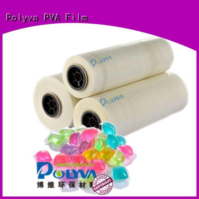 water soluble film suppliers laundry water soluble film pods POLYVA