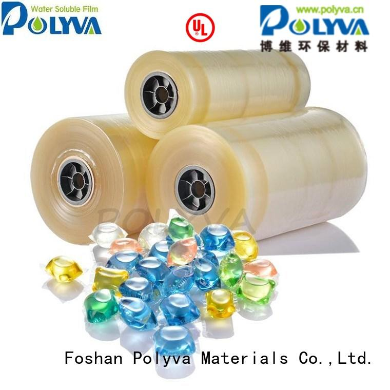 oem Custom pva water soluble film detergent POLYVA