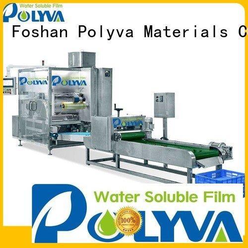 POLYVA Brand liquid powder packaging laundry pod machine