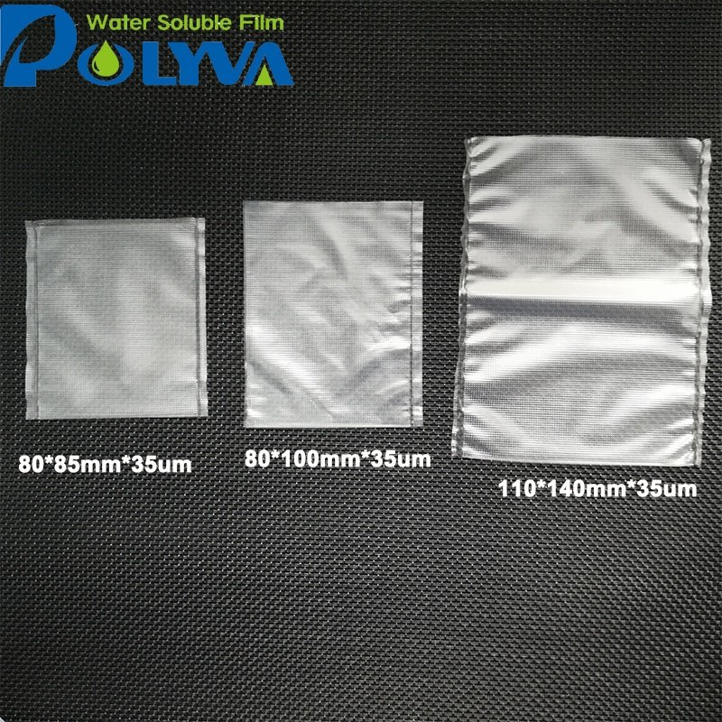 POLYVA Pesticide granules powder pva packaging water-soluble bags Agrochemical Water Soluble Film image2