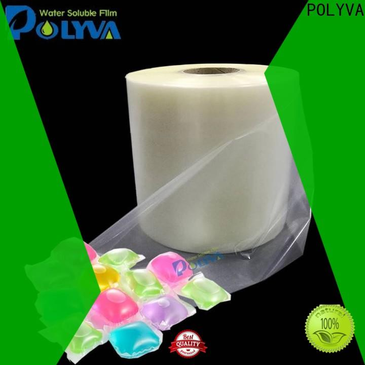 POLYVA hot selling water soluble bags directly sale for makeup
