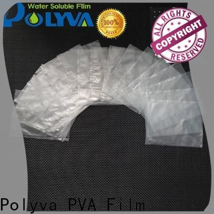 POLYVA dissolvable plastic factory price for solid chemicals
