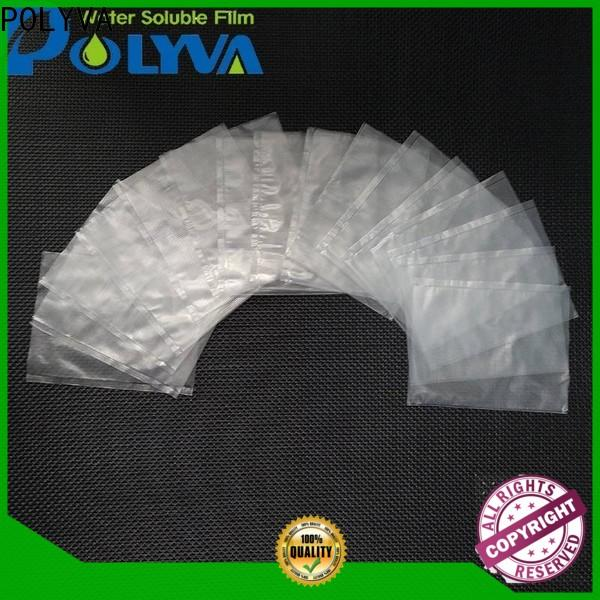 POLYVA eco-friendly water soluble laundry bags manufacturer for solid chemicals