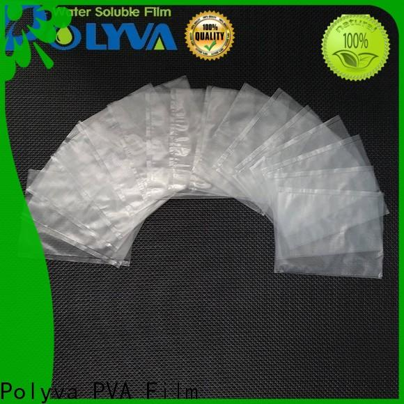 POLYVA popular water soluble laundry bags manufacturer for granules