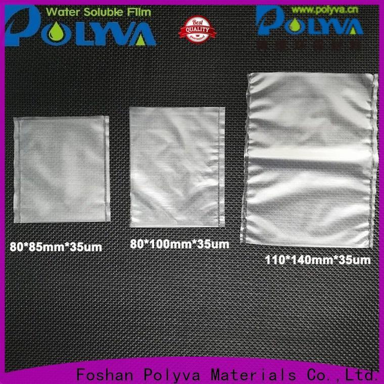 POLYVA dissolvable bags series for granules