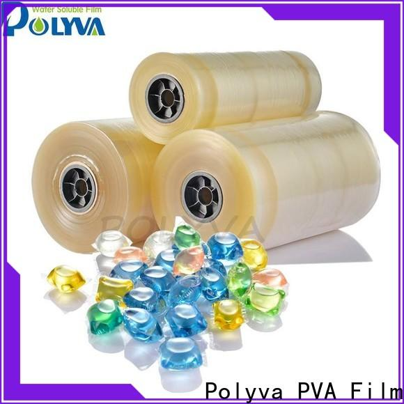 POLYVA dissolvable laundry bags directly sale for makeup