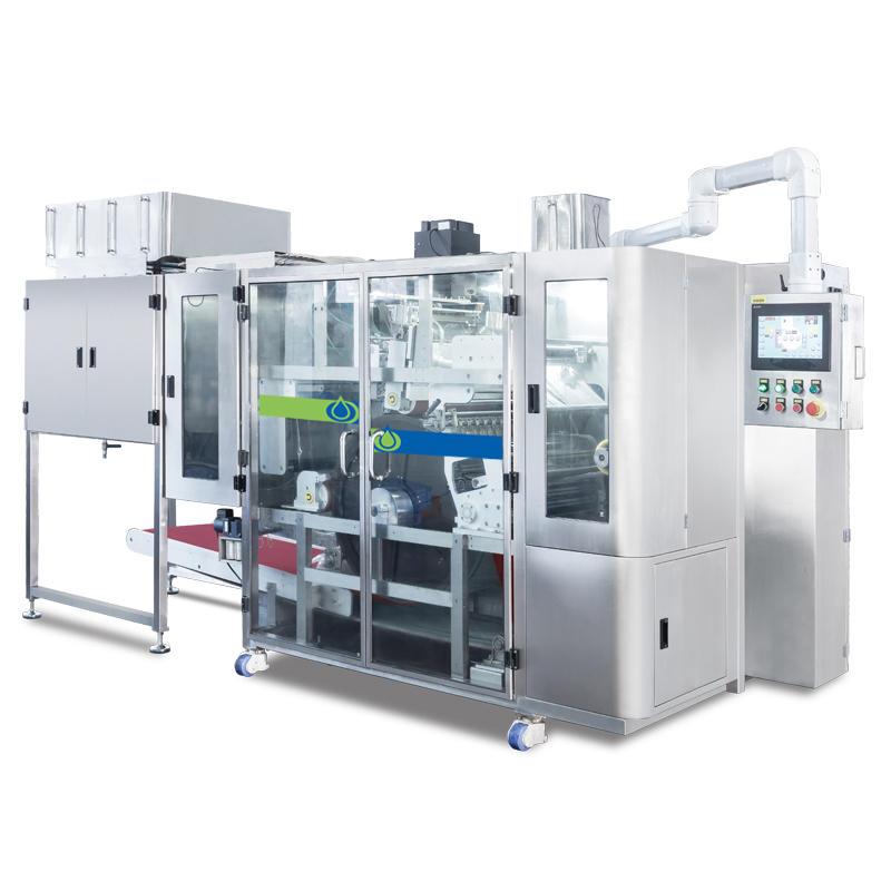 NZD530-SL Efficient detergent pods packing machine