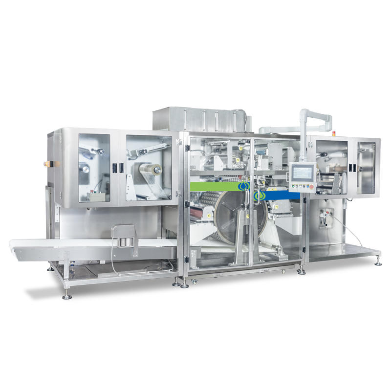 NZE530-SL High capacity PVA PVOH laundry detergent pods packing machine water soluble laundry capsules making machine