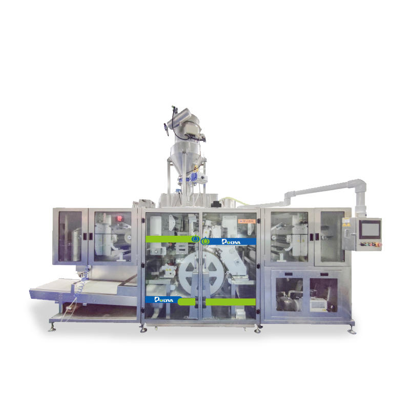 NZE-TM laundry detergent pods packing machine for powder Laundry Capsules Filling Sealing machines|Polyva