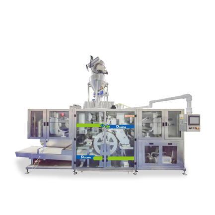 NZE-TM Прачечная моющие средства PODS Упаковочная машина для порошковых капсул для белья, наполнительные уплотнительные машины   Polyva