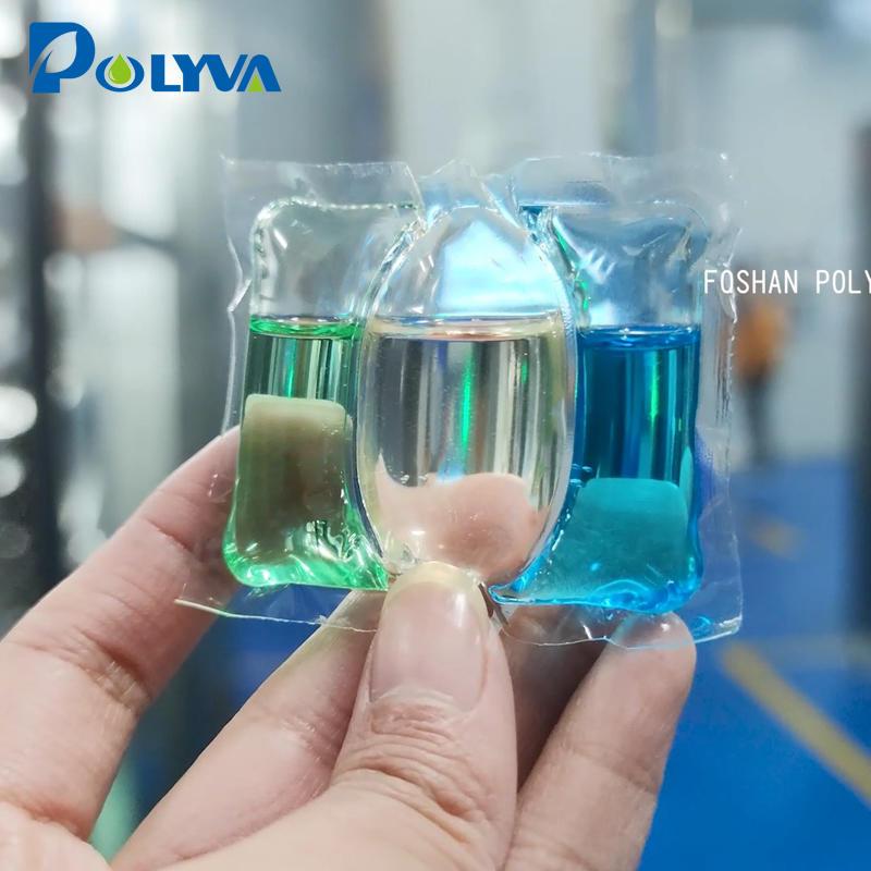 Сверхэффективные моющие средства Pods Упаковочная машина | Полива