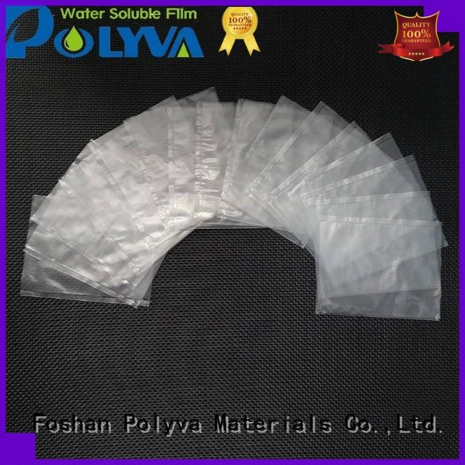 POLYVA PVA water soluble laundry bags factory price for agrochemicals powder