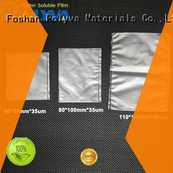 POLYVA nontoxic dissolvable bags factory price for granules