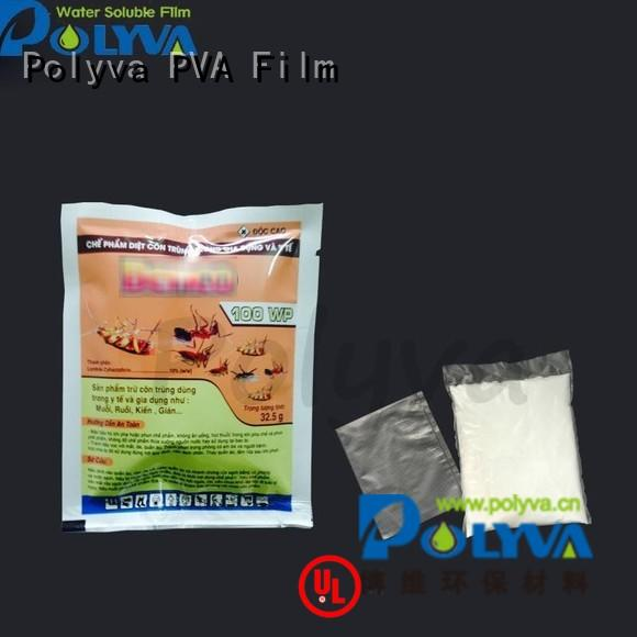 pesticide fertilizer POLYVA Brand water soluble bags for ashes
