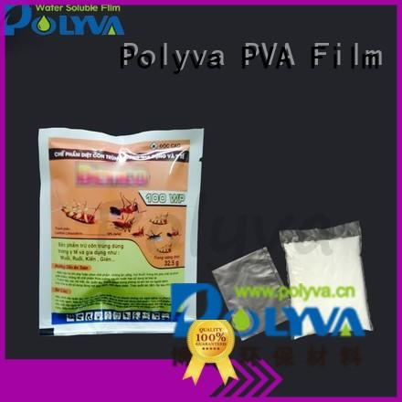 POLYVA water soluble laundry bags factory price for solid chemicals