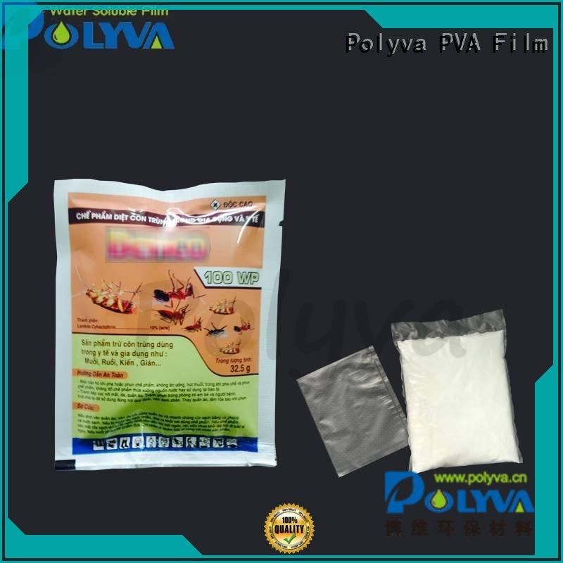 water soluble laundry bags factory price for solid chemicals POLYVA
