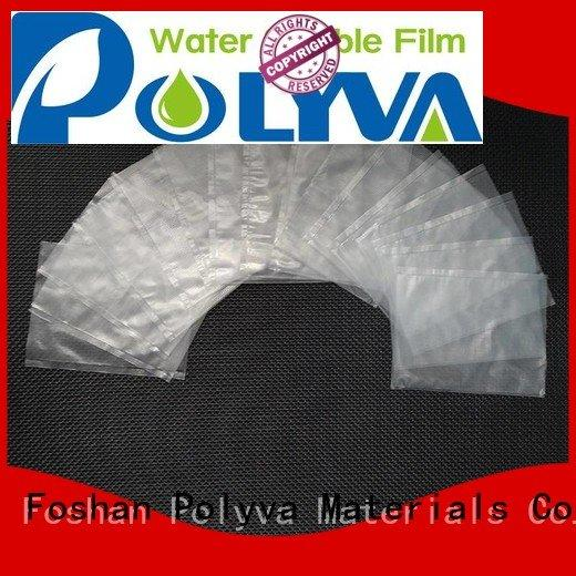 alcohol water soluble bags for ashes POLYVA Brand