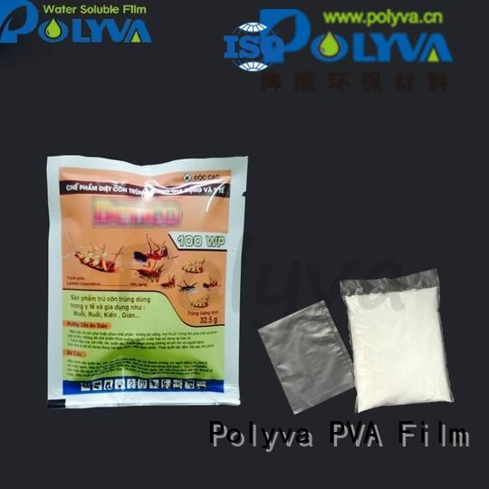 Hot water soluble bags for ashes film POLYVA Brand