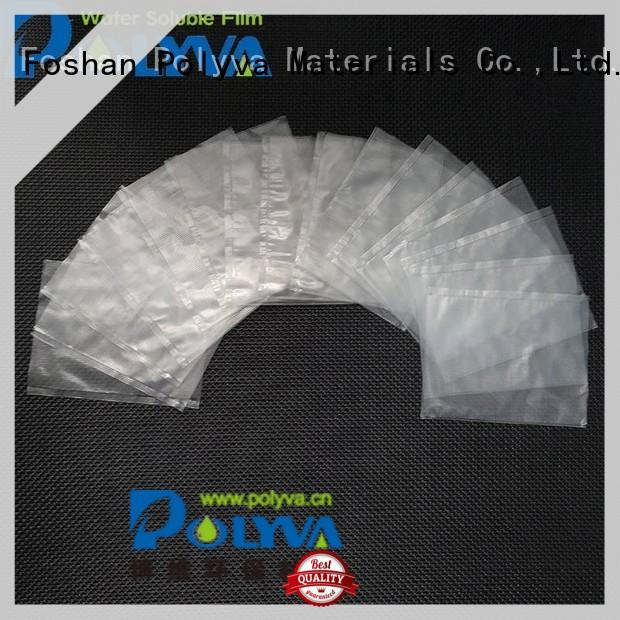 POLYVA polyvinyl pva water soluble bag factory for solid chemicals