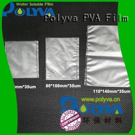 watersoluble film dissolvable plastic POLYVA Brand