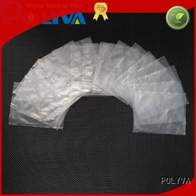 POLYVA polyvinyl dissolvable bags wholesale for solid chemicals