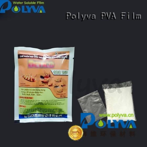 POLYVA Brand film water soluble bags for ashes packaged supplier