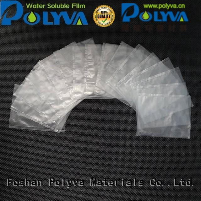 Hot soluble water soluble bags for ashes alcohol POLYVA Brand