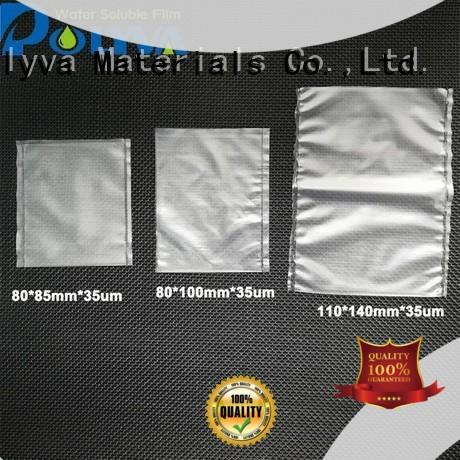 dissolvable bags for solid chemicals POLYVA