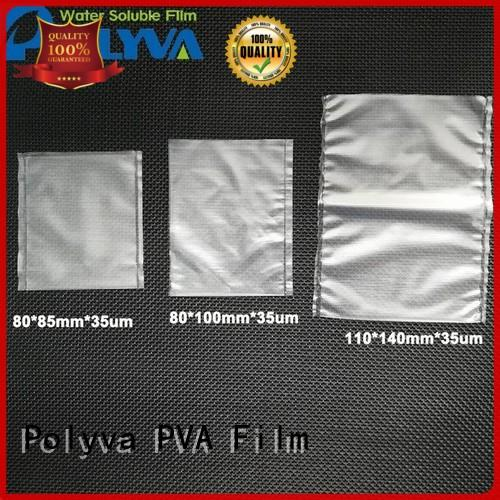 PVA pva water soluble film manufacturer for solid chemicals