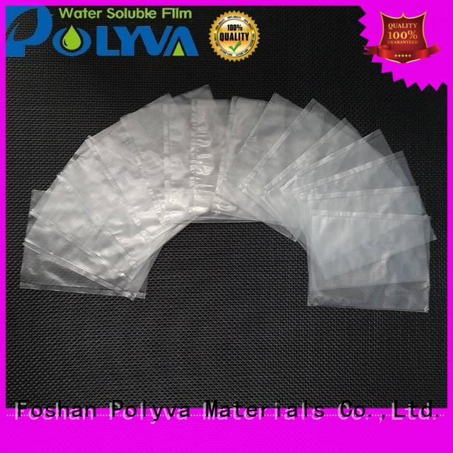 POLYVA pva water soluble film factory for solid chemicals