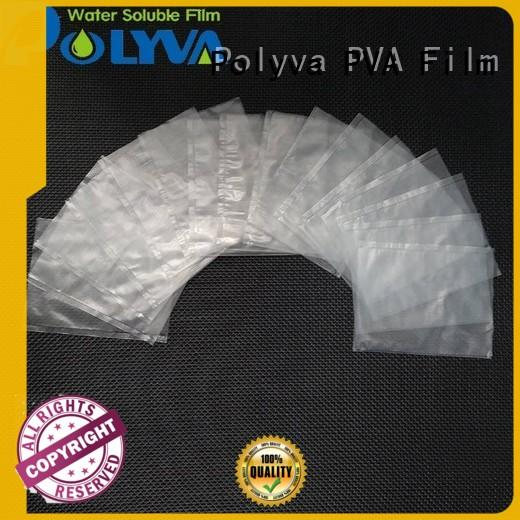 POLYVA individually packaged dissolvable bags factory price for agrochemicals powder