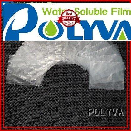 POLYVA Brand individually powder nontoxic water soluble bags for ashes